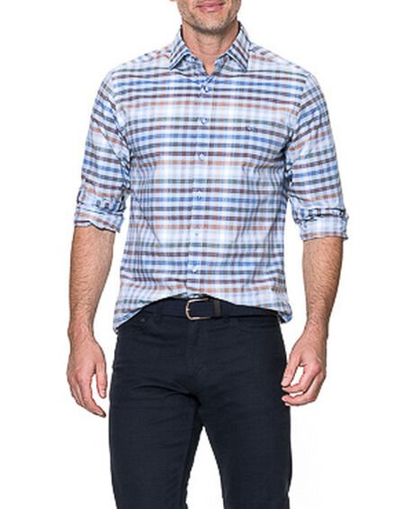 Rothesay Sports Fit Shirt, STONEWASH, hi-res