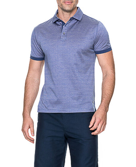 Stony Bay Sports Fit Polo, INDIGO, hi-res