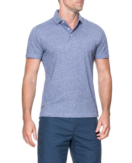 Parkhurst Sports Fit Polo, NAVY, hi-res