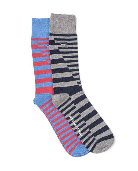 Bowentown Two Pack Sock, SEASPRAY, hi-res