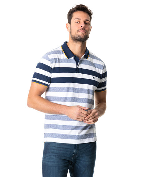 Coppermine Bay Sports Fit Polo, OCEAN, hi-res