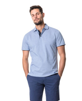 Alton Valley Sports Fit Polo, RIVIERA, hi-res