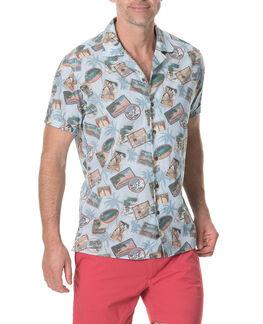Teddington Cf Shirt/Stonewash XS, STONEWASH, hi-res