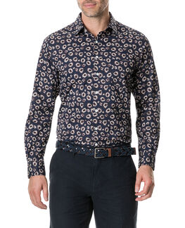 Ellerby Sports Fit Shirt, MIDNIGHT, hi-res