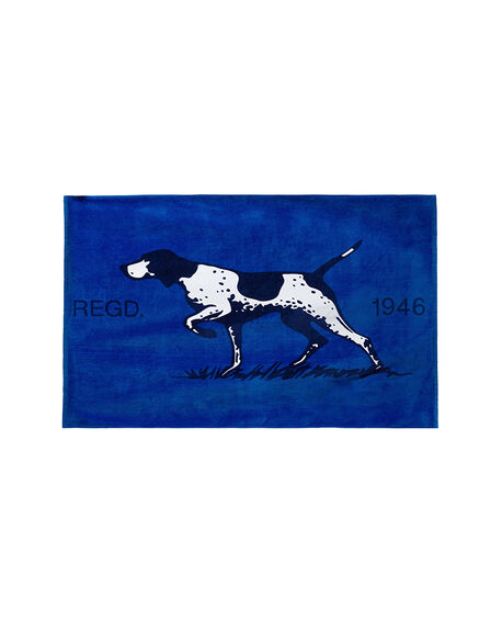 Bays Road Towel, NAVY, hi-res