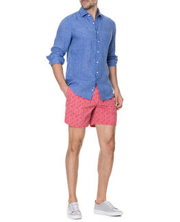 Warwick Junction Sports Fit Shirt/Ultramarine ME, ULTRAMARINE, hi-res