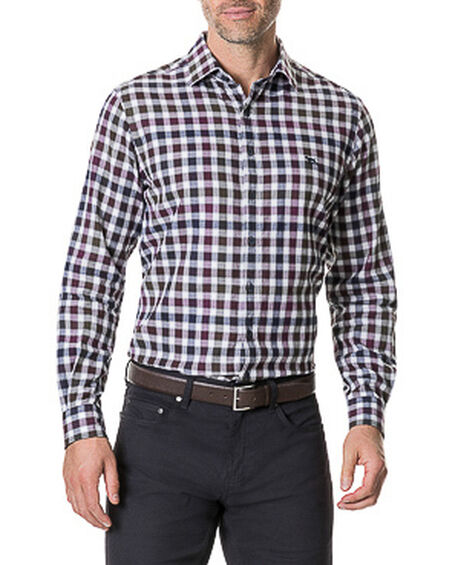 Harvest Avenue Sports Fit Shirt, PORT, hi-res
