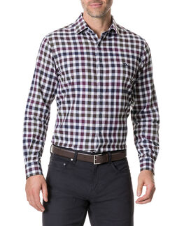 Harvest Avenue Sports Fit Shirt /Port XS, PORT, hi-res