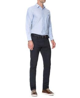 Gunn Sports Fit Shirt/Sky XS, SKY, hi-res