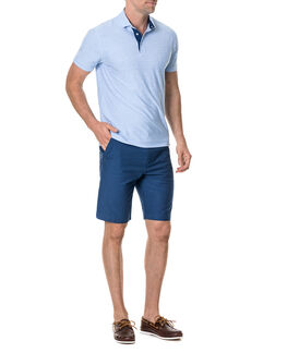 Gainford Sports Fit Polo/Sky XS, SKY, hi-res