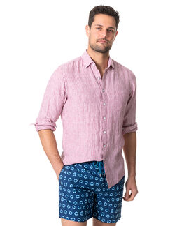 Bay Of Islands Sports Fit Shirt, HIBISCUS, hi-res