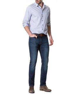 Calvert Slim Fit Jean/Rl Mid Blue 30, MID BLUE, hi-res