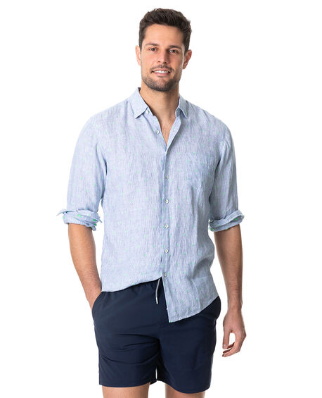 Winchmore Sports Fit Shirt, BLUEBELL, hi-res