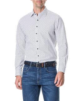 Northcross Sports Fit Shirt/Ivory XS, IVORY, hi-res