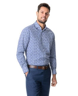 Esslin Sports Fit Shirt/Bluebell XS, BLUEBELL, hi-res