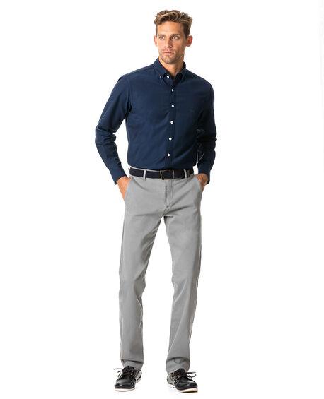 North Island Oxford Sports Fit Shirt, NAVY, hi-res