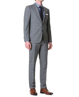 Monkwell Slim Fit Jacket/Ash 36R, ASH, hi-res