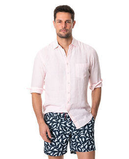 Bay Of Islands Sports Fit Shirt, SHELL, hi-res