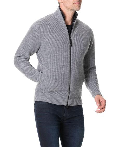 Camerons Track Sweater, SMOKE, hi-res