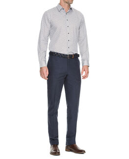 Pembroke Slim Fit Pant/Navy 30, NAVY, hi-res