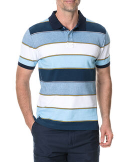 Mangara Sports Fit Polo, LAGOON, hi-res