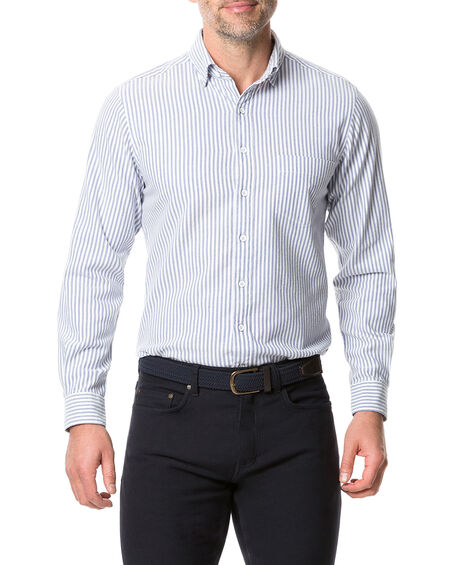 Kurow Sports Fit Shirt, BLUEBELL, hi-res