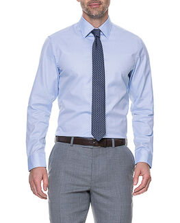 Smithfield Tailored Shirt, SKY, hi-res