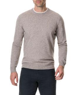 Queenstown Sweater, ECRU, hi-res