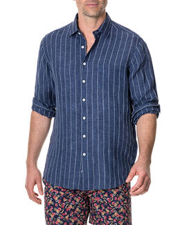 Mangle Valley Shirt/Navy XS, NAVY, hi-res