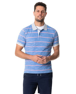 Teal River Sports Fit Polo, COBALT, hi-res