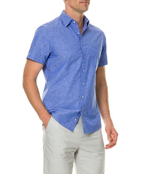Riverview Road Sports Fit Shirt, AQUAMARINE, hi-res