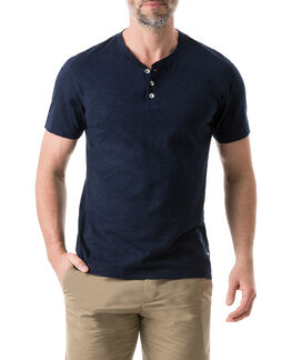 Milton T-Shirt , NAVY, hi-res