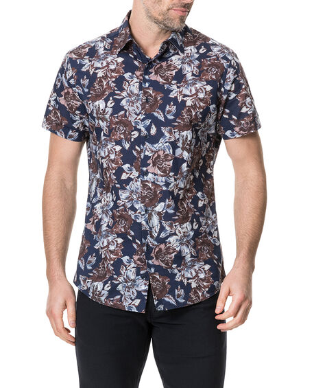 Gifford Sports Fit Shirt, INDIGO, hi-res