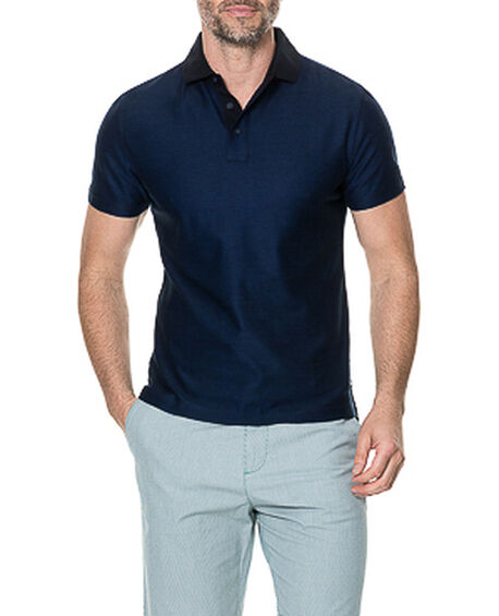 Caplestone Sports Fit Polo, INK, hi-res