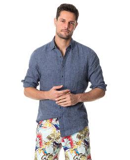 Baylys Beach Sports Fit Shirt, MARINE, hi-res