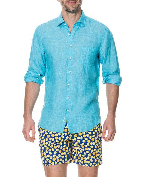 Harris Bay Sports Fit Shirt, TEAL, hi-res
