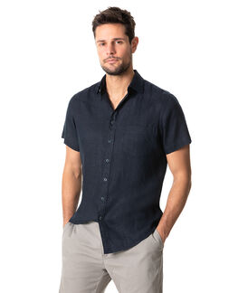 Otokia Sports Fit Shirt/Midnight XS, MIDNIGHT, hi-res