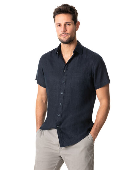 Otokia Sports Fit Shirt, MIDNIGHT, hi-res