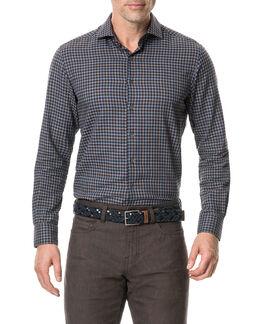 Loburn North Sports Fit Shirt/Midnight XS, MIDNIGHT, hi-res