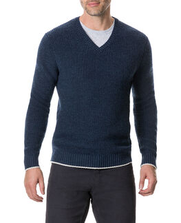 Masfield Sweater, NAVY, hi-res
