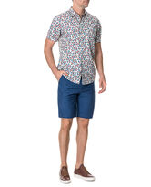 Army Bay Regular Fit Short, SEA BLUE, hi-res