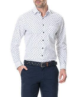 Jellicoe Sports Fit Shirt/Snow XS, SNOW, hi-res