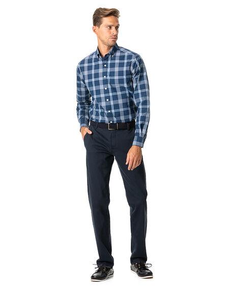 Allaman Sports Fit Shirt, MIDNIGHT, hi-res