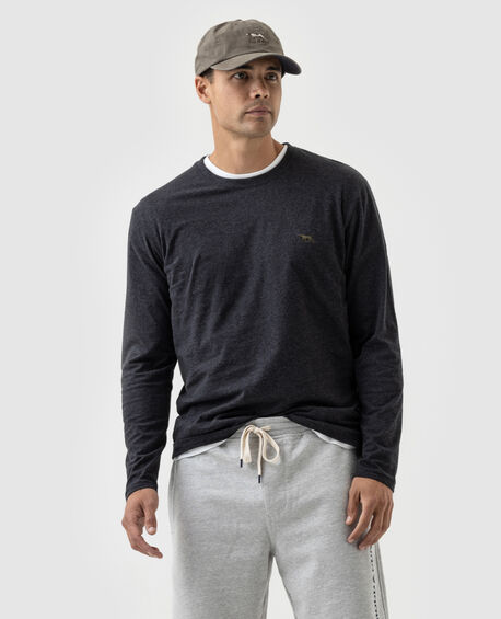 Ls Gunn T-Shirt , CHARCOAL, hi-res