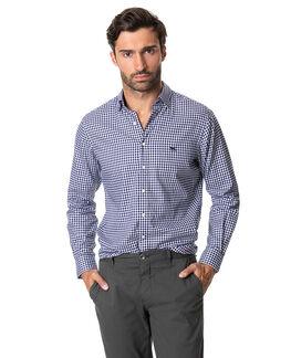 Glenlea Sports Fit Shirt/Marine XS, MARINE, hi-res