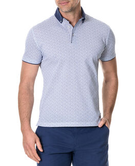 Evans Bay Sports Fit Polo, SNOW, hi-res