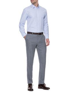 Masons Tailored Shirt/Cornflower 42/LG, CORNFLOWER, hi-res