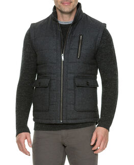 Johnsonville Vest/Charcoal XS, CHARCOAL, hi-res