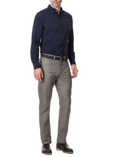 Limbrick Sports Fit Shirt/Indigo XS, INDIGO, hi-res