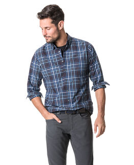 Cherokee Sports Fit Shirt, DENIM, hi-res
